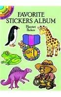 9780486266275: Favorite Stickers Album (Dover Little Activity Books)