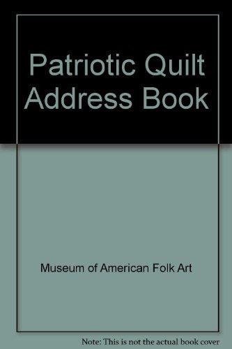 9780486266435: Patriotic Quilt Address Book