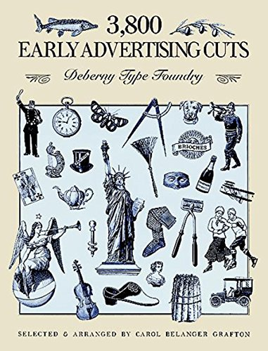 9780486266589: 3,800 Early Advertising Cuts: Deberny Type Foundry