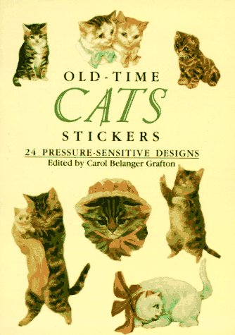 9780486266602: Old-Time Cats Stickers : 24 pressure-sensitive designs (Pocket-Size Sticker Collections)