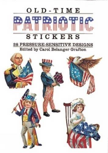 9780486266619: Old-Time Patriotic Stickers: 28 Pressure-Sensitive Designs (Dover Stickers)
