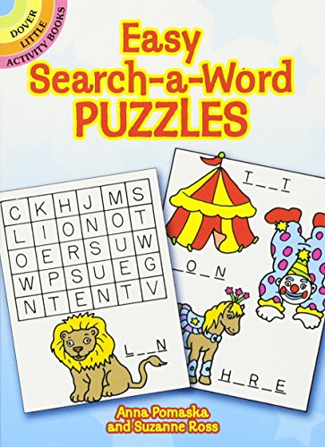9780486266725: Easy Search-a-Word Puzzles (Dover Little Activity Books)