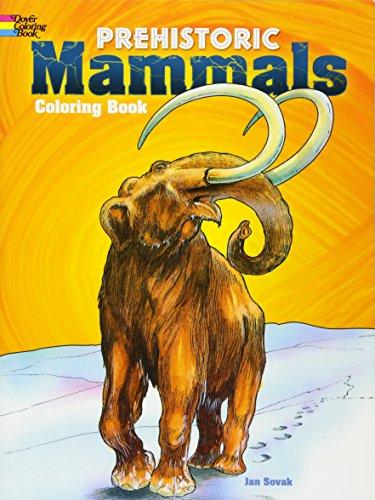 9780486266732: Prehistoric Mammals Coloring Book