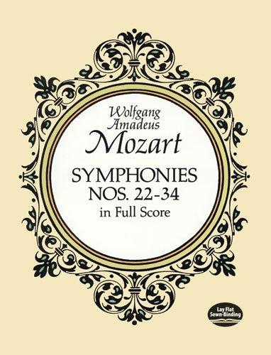 9780486266756: Symphonies Nos. 22-34 in Full Score (Dover Music Scores)