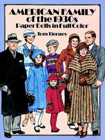 9780486266770: American Family of the 1930s Paper Dolls