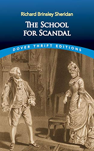 9780486266879: The School for Scandal (Dover Thrift Editions)