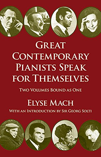 9780486266954: Great Contemporary Pianists Speak for Themselves (Dover Books on Music)