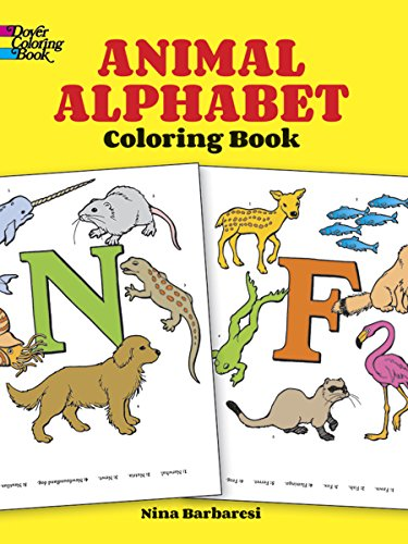9780486266985: Animal Alphabet Coloring Book (Dover Coloring Books)