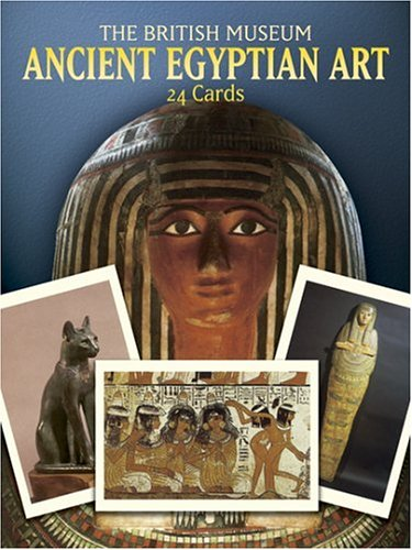 Ancient Egyptian Art Postcards in Full Color/24 Ready-To-Mail Cards: British Museum