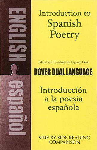 9780486267128: Introduction to Spanish Poetry: A Dual-language Book (Dover Dual Language Spanish)