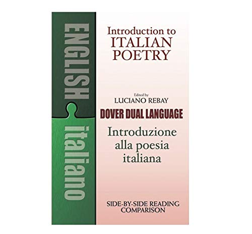 9780486267159: Introduction to Italian Poetry