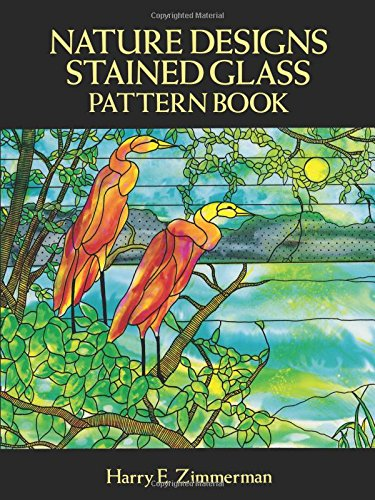 Stained Glass Pattern Book Cat Designs for Craftspeople and Artisans