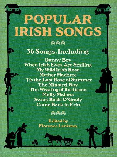 9780486267555: Popular Irish Songs (Dover Song Collections)
