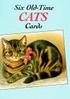 9780486268187: Six Old-Time Cats (Post) Cards (Small-Format Card Books)