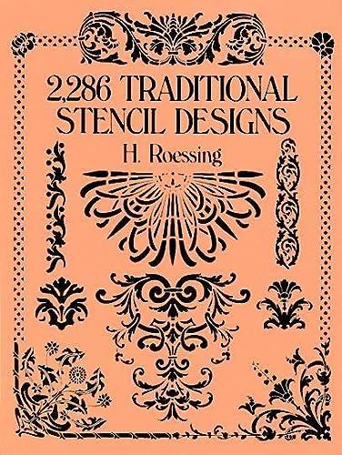 9780486268453: 2,286 Traditional Stencil Designs (Dover Pictorial Archive)