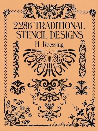 2,286 Traditional Stencil Designs (Paperback): H. Roessing
