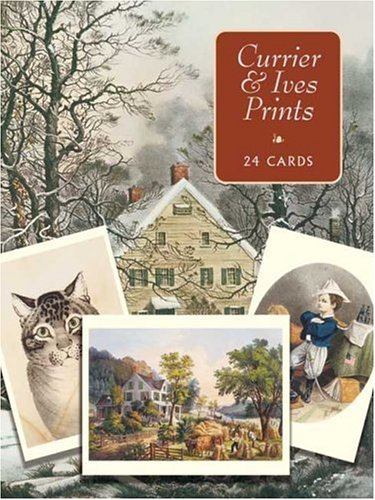 Currier and Ives Postcards in Full Color: 24 Ready to Mail Cards