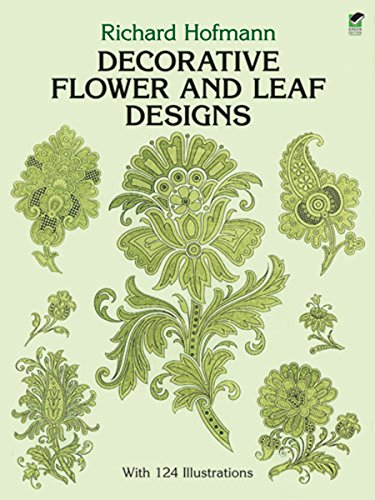 9780486268699: Decorative Flower and Leaf Designs (Dover Pictorial Archive)