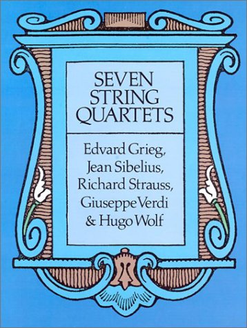 9780486268910: Seven String Quartets
