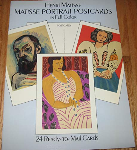 Matisse Portrait Postcards in Full Color: Matisse, Henri