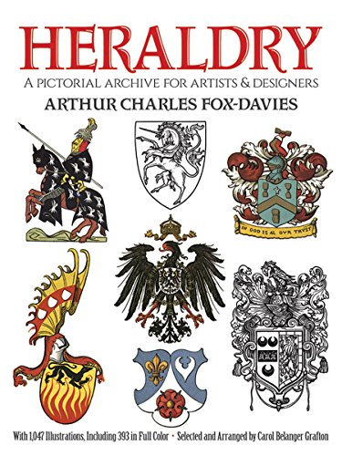 9780486269061: Heraldry: A Pictorial Archive for Artists and Designers (Dover Pictorial Archive)