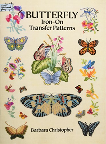 9780486269085: Butterfly Iron-On Transfer Patterns