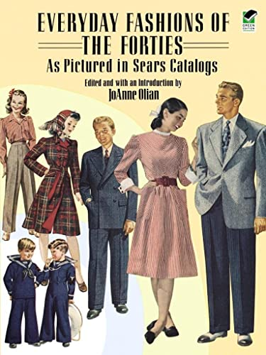 9780486269184: Everyday Fashions of the Forties As Pictured in Sears Catalogs (Dover Fashion and Costumes)