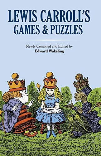 9780486269221: Lewis Carroll's Games and Puzzles (Dover Recreational Math)