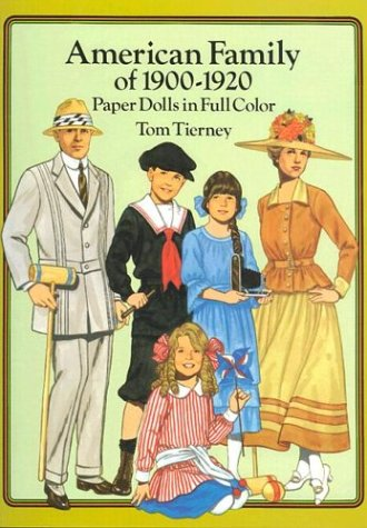 9780486269481: American Family of 1900-1920 Paper Dolls in Full Color