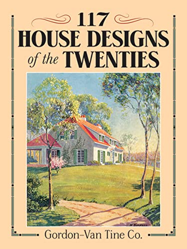 9780486269597: 117 House Designs of the Twenties (Dover Architecture)