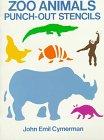 Zoo Animals Punch-Out Stencils: Cymerman, John Emil