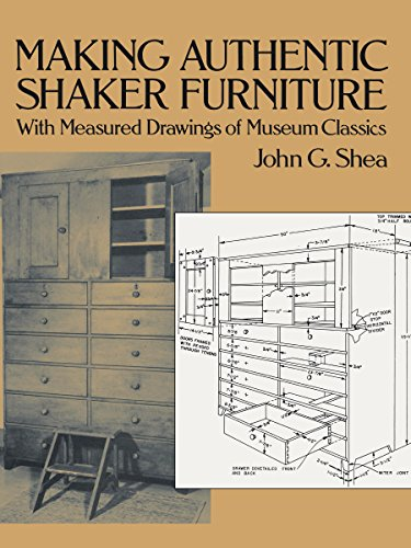 9780486270036 Making Authentic Shaker, Furniture Dover De