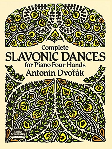 9780486270197: Complete Slavonic Dances for Piano Four Hands
