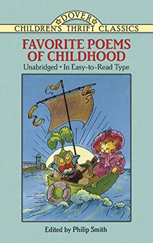 9780486270890: Favorite Poems of Childhood (Dover Children's Thrift Classics)