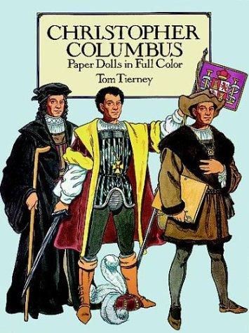 9780486270982: Christopher Columbus : Paper Dolls in Full Color