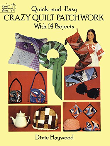 9780486271064: Quick Crazy Quilt Patchwork (Dover Quilting)