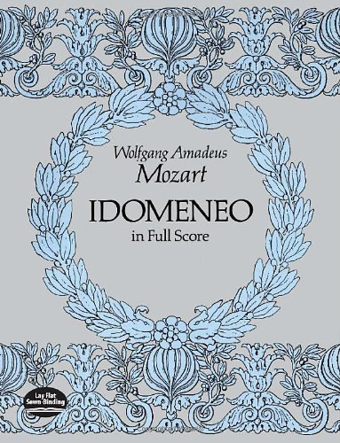 9780486271088: Idomeneo in Full Score: From the Breitkopf & Hartel Complete Works Edition