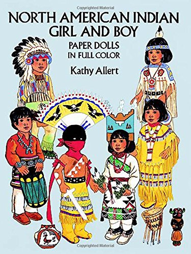9780486271163: North American Indian Girl and Boy Paper Dolls in Full Colour (Dover Paper Dolls)