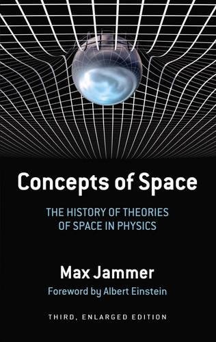 Concepts of Space: The History of Theories: Jammer, Max