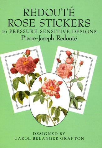 9780486271408: Redouté Rose Stickers: 16 Pressure-Sensitive Designs (Dover Stickers)