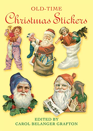 9780486271460: Old-Time Christmas Stickers (Dover Stickers)