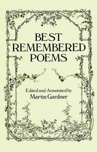 Best Remembered Poems: Martin Gardner