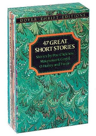 9780486271781: 47 Great Short Stories: Stories by Poe, Chekhov, Maupassant, Gogol, O. Henry and Twain (Dover Thrift)