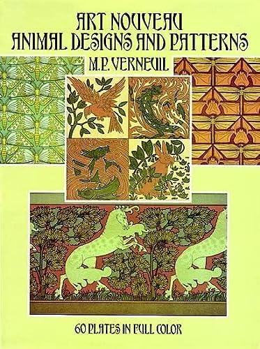 Art Nouveau Animal Designs and Patterns: 60: Verneuil, M. P.