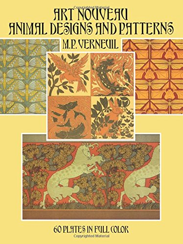 9780486272184: Art Nouveau Animal Designs and Patterns: 60 Plates in Full Color (Dover Pictorial Archive)