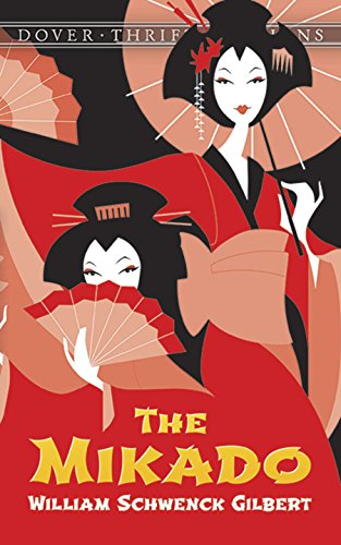 9780486272689: The Mikado (Dover Thrift Editions)