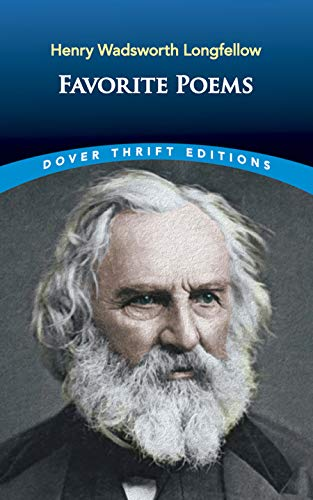 Favorite Poems (Dover Thrift Editions): Henry Wadsworth Longfellow