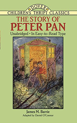 9780486272948: The Story of Peter Pan: Unabridged in Easy-To-Read Type (Dover Children's Thrift Classics)