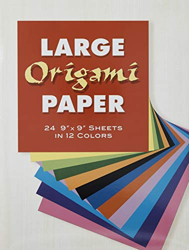 9780486272955: Large Origami Paper : 24 9