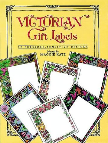 Victorian Gift Labels: 22 Pressure-Sensitive Designs (Press-On
